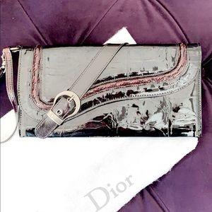 Authentic Dior wristlet clutch.
